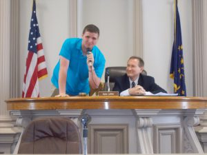 Nate LaMar invites Honors Government students to shadow County Council Members